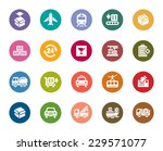 logistics and transport color... | Shutterstock .eps vector #229571077