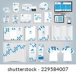 corporate identity templates ... | Shutterstock .eps vector #229584007