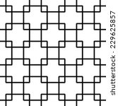 seamless squares pattern | Shutterstock .eps vector #229625857