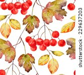 Bright Autumn Seamless Pattern...