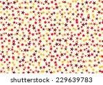 many multicolored stars... | Shutterstock . vector #229639783