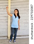 young asian teenager taking... | Shutterstock . vector #229732087