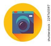 retro cameral icon | Shutterstock .eps vector #229765597