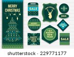 knitting pattern elements for... | Shutterstock .eps vector #229771177