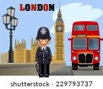 the big ben | Shutterstock .eps vector #229793737