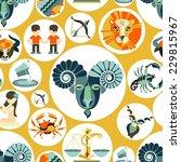 horoscope zodiac sign ... | Shutterstock .eps vector #229815967