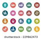 logistics and transport color... | Shutterstock .eps vector #229862473