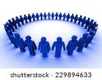 business network | Shutterstock . vector #229894633
