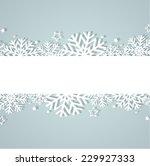 christmas background | Shutterstock .eps vector #229927333