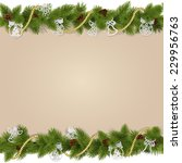 vector christmas background... | Shutterstock .eps vector #229956763