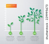 Green Tree And Plant Diagram...