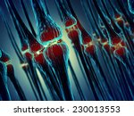 synaptic transmission  ... | Shutterstock . vector #230013553