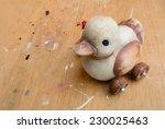 Vintage Duck Toy