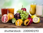 drink  fruit  vegetable juices  ... | Shutterstock . vector #230040193