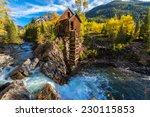 crystal mill wooden powerhouse...