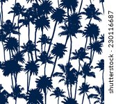 vector palm trees illustration... | Shutterstock .eps vector #230116687