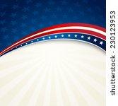 patriotic background american... | Shutterstock .eps vector #230123953