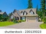 custom built luxury house with... | Shutterstock . vector #230135023