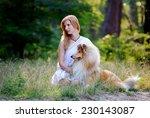 Beautiful Girl With Blonde Hai...