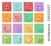 food icon set great for... | Shutterstock .eps vector #230152327