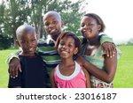 african children | Shutterstock . vector #23016187