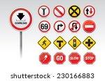traffic icon signs