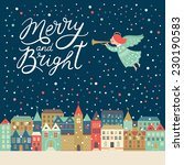 Merry And Bright Lettering ...