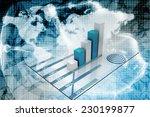 business graph  | Shutterstock . vector #230199877