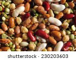 Multicolored Legumes Backgroun...
