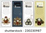 set of beer labels | Shutterstock .eps vector #230230987