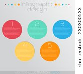 colorful circle infographic...