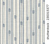 Seamless Pattern With Marine...