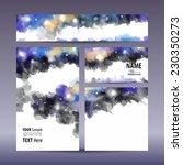 vector set visual corporate... | Shutterstock .eps vector #230350273