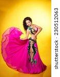 belly dancer woman beautiful...   Shutterstock . vector #230512063