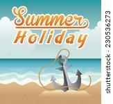 summer graphic design   vector... | Shutterstock .eps vector #230536273
