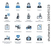 medical   health care icons set ... | Shutterstock .eps vector #230545123