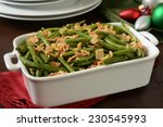 A Green Bean Casserole With...