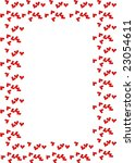 framework with hearts  for ...   Shutterstock . vector #23054611