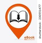 ebook graphic design   vector...   Shutterstock .eps vector #230551477
