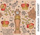 seamless. decorative background ... | Shutterstock .eps vector #230560087