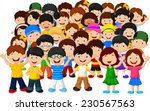 Crowd Of Children