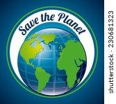 ecology graphic design   vector ... | Shutterstock .eps vector #230681323