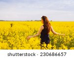 Young Woman In Sleeveless Dres...