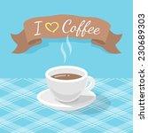 vector flat stylized... | Shutterstock .eps vector #230689303