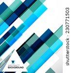 abstract flyer brochure