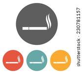 smoking icon | Shutterstock .eps vector #230781157