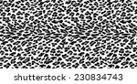 seamless leopard pattern. black ...   Shutterstock .eps vector #230834743