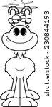 a cartoon illustration of a... | Shutterstock .eps vector #230844193