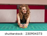 woman by roulette table at... | Shutterstock . vector #230904373