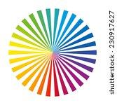 Circular Color Fan Deck...